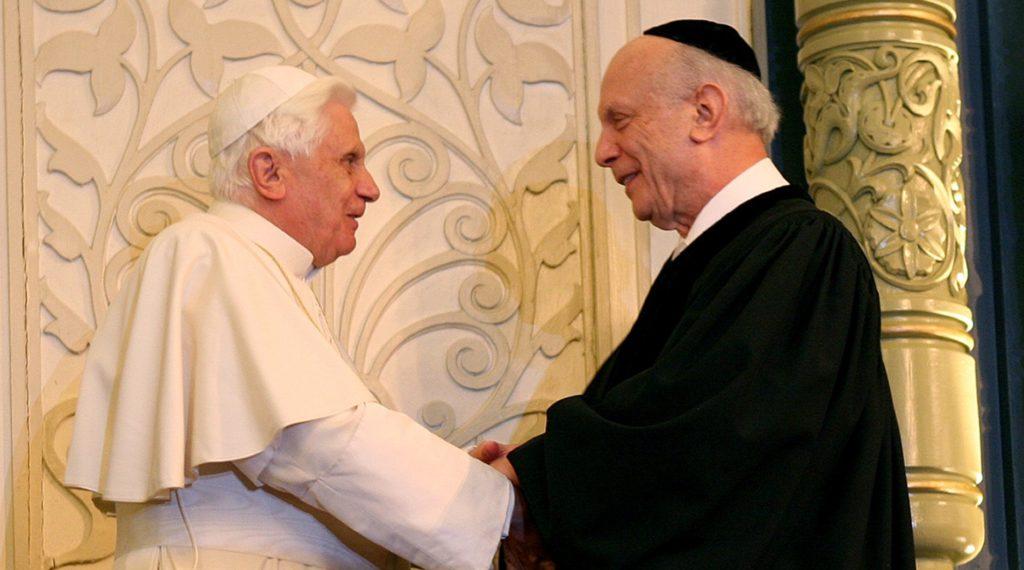 Pope Benedict XVI visit to PES 136